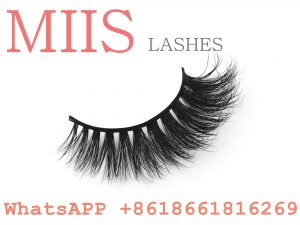 3d private label mink eyelashes